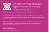 DAV Virtual MUN2020