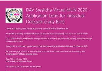 DAV Virtual MUN2020
